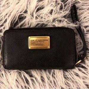 Marc Jacobs Black Wristlet Wallet